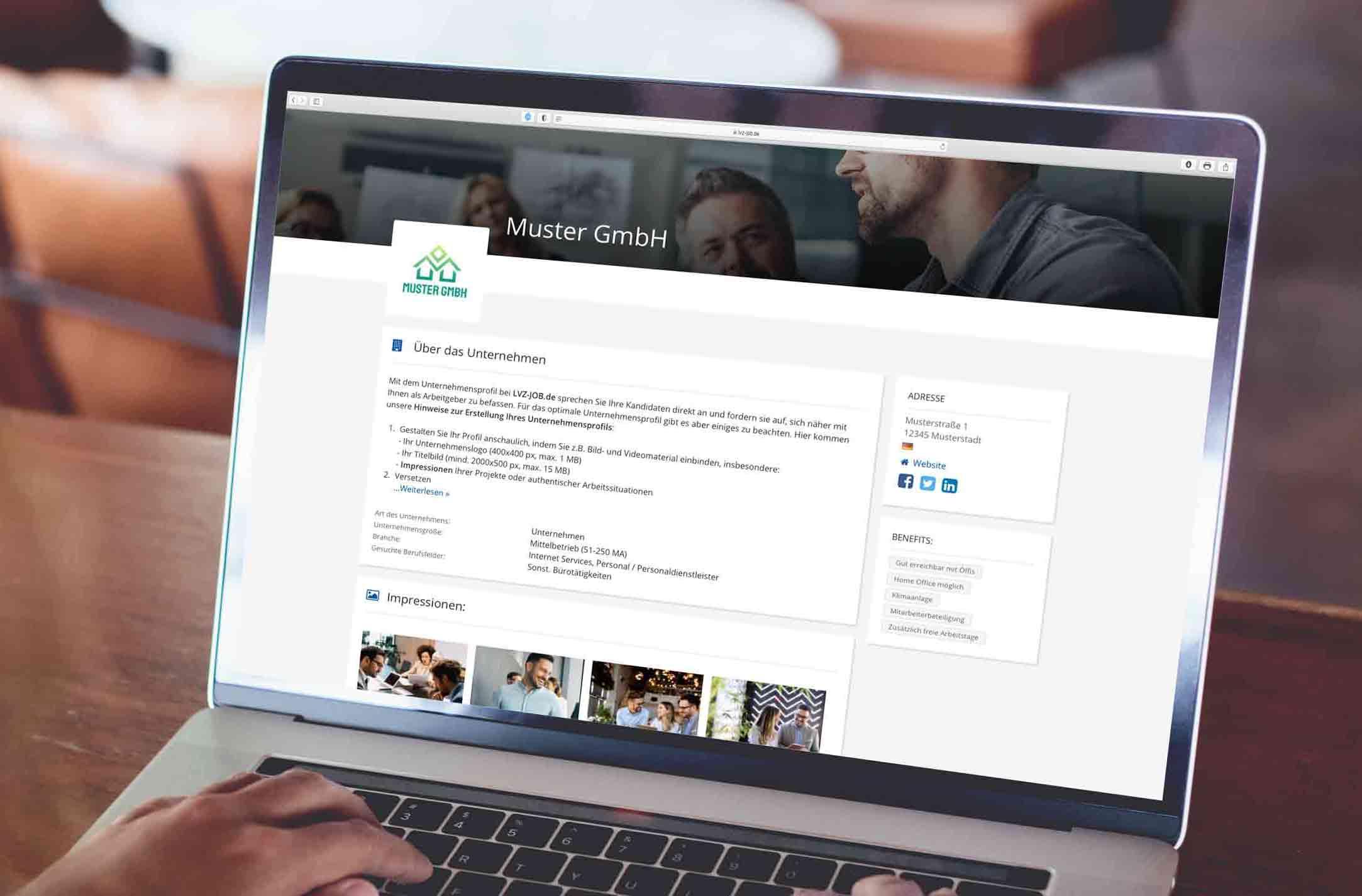 lvz-jobs.de Unternehmensprofil