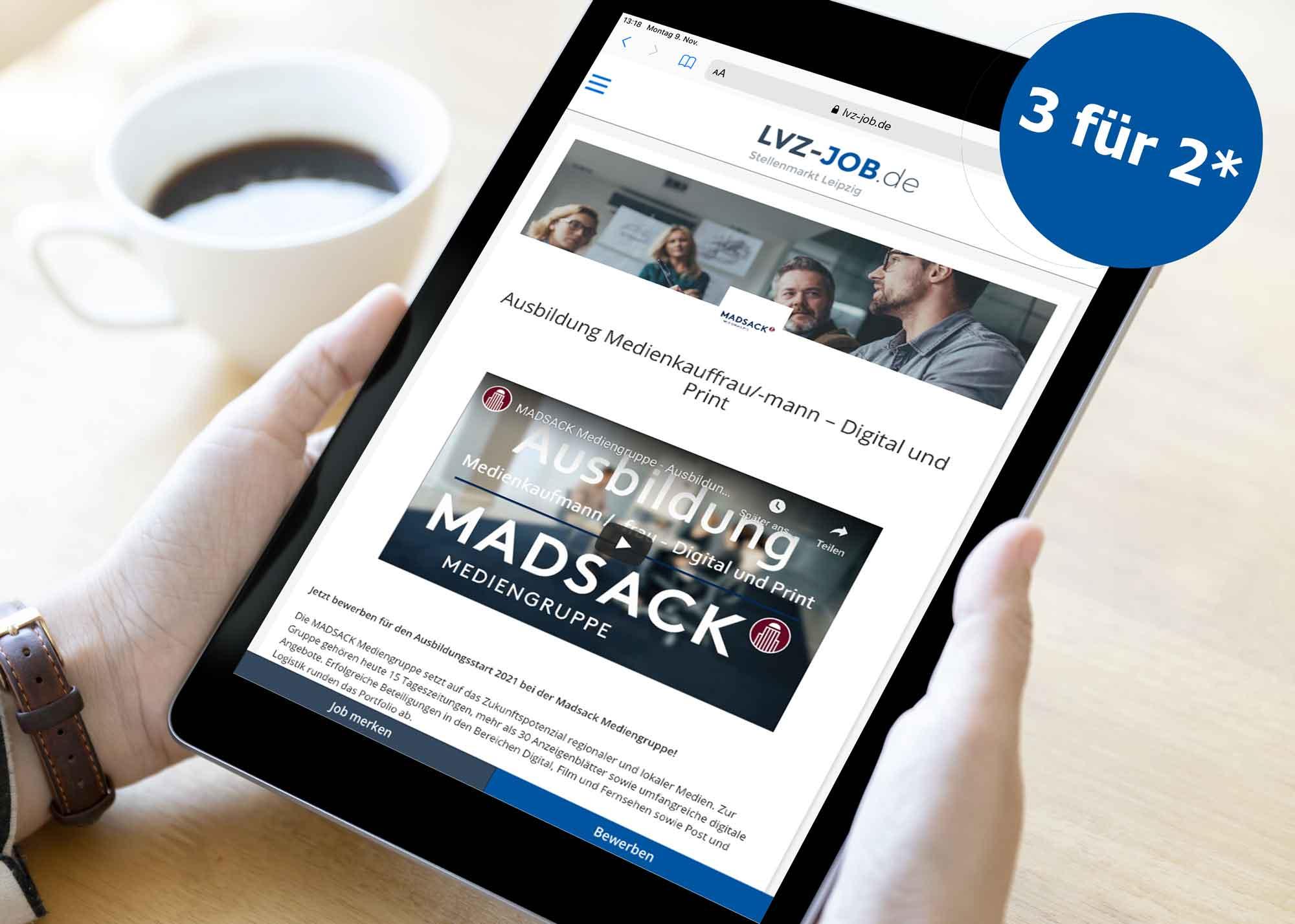 lvz-job.de Online Videostellenanzeige 360